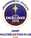 UNEP Multiselection Plus Label d'excellence 2015